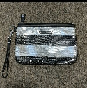 Betsy Johnson Sequin Clutch